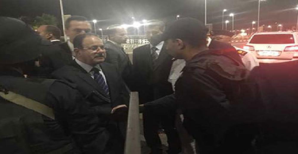 وزير الداخلية يتفقد الخدمات الأمنية بشرم الشيخ